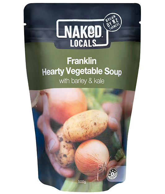 Franklin Hearty Vegetable Soup Image