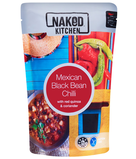 Mexican Black Bean Chilli Image