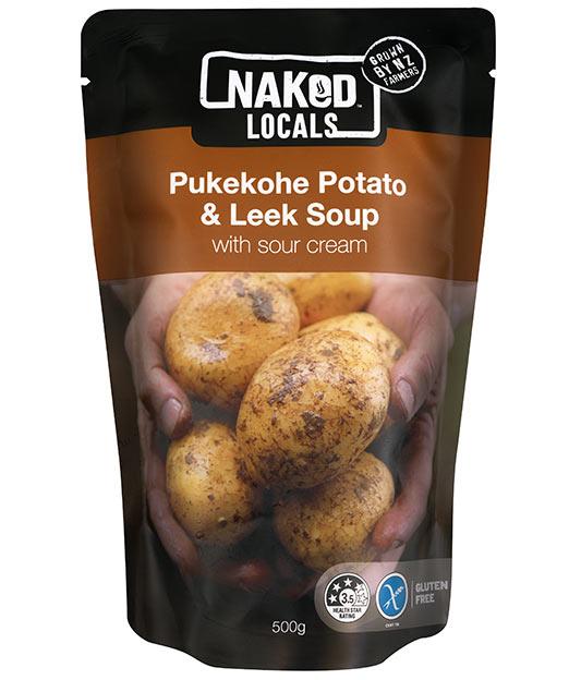 Pukekohe Potato & Leek Soup Image