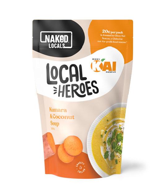 Local Heroes Kumara & Coconut Soup Image