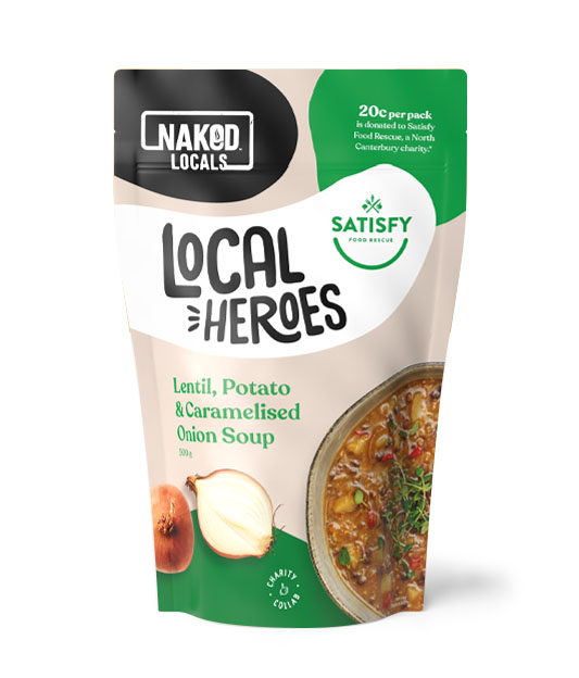 Local Heroes Lentil, Potato & Caramelised Onion Soup Image